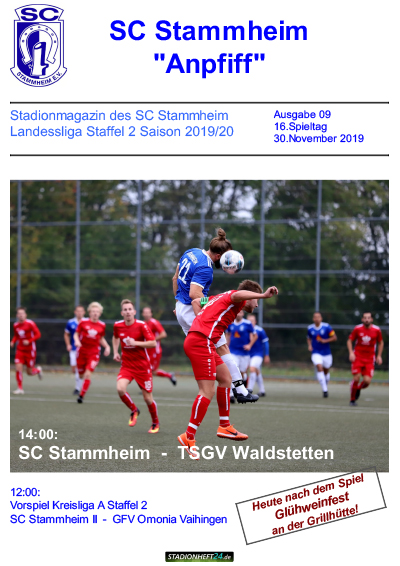 SC-Stadionheft